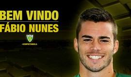 Fábio Nunes é o primeiro reforço