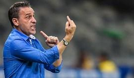 Cruzeiro desmente saída de Bento no 2.º pior arranque em 23 anos