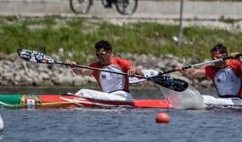 Europeus: Emanuel Silva e João Ribeiro em sexto lugar na final de K2 500