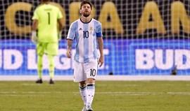 Messi anuncia adeus à seleção argentina