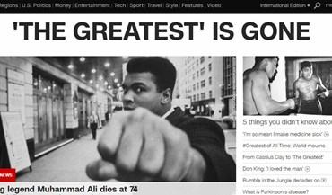 Imprensa mundial lembra Muhammad Ali