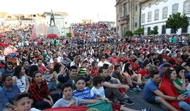 Braga vibra com a Seleção Nacional