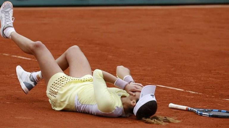 Muguruza reagiu assim à conquista de Roland Garros