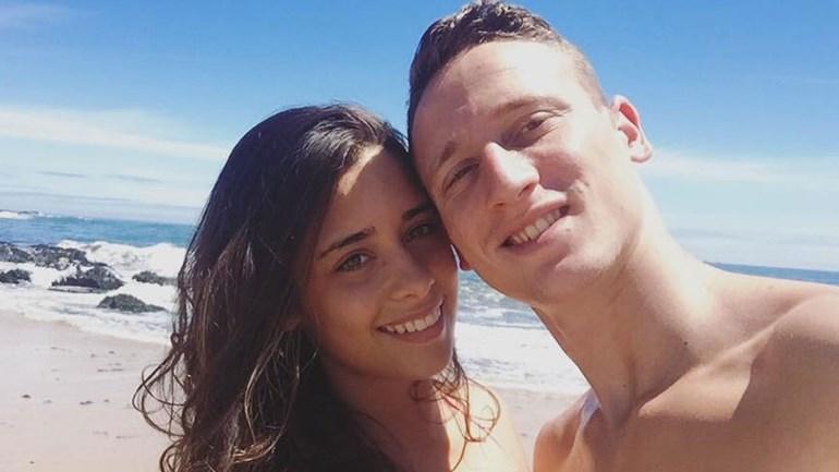 Nuno Santos e Diana Ribeiro aproveitam o calor do fim-de-semana