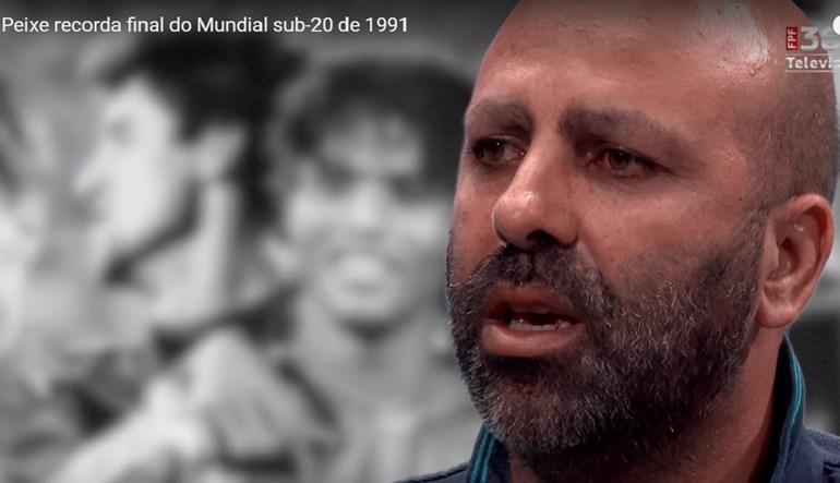 Emílio Peixe e a vitória no Mundial de 1991: «Esse momento marcante ficará para sempre»