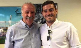 Casillas e Del Bosque enterram 'machado de guerra'