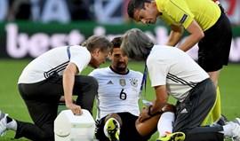 Löw confirma: Khedira não joga nas meias-finais