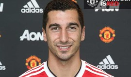Mkhitaryan confirmado no Man. United
