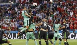 Ronaldo iguala Platini como melhor marcador da história dos Europeus