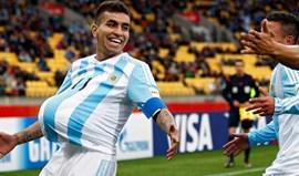 Argentina divulga lista final... sem Jonathan Silva