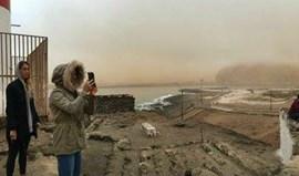 Teresa Almeida travada por tempestade de Areia