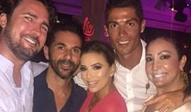 CR7 e Eva Longoria juntos em Ibiza