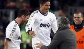 Varane deu nega a Mourinho