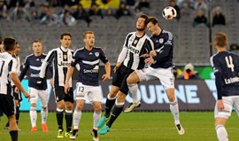 Juventus derrotada nos penáltis frente ao Melbourne Victory