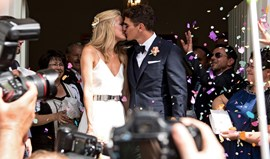 Mario Gómez já é um homem casado