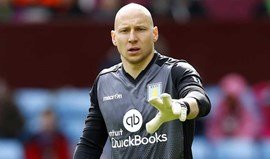 Guzan deixa Aston Villa e ruma ao Middlesbrough