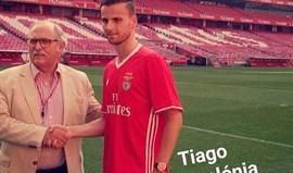 Tiago Apolónia assina parceria com o Benfica