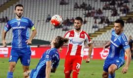 Sérvia: Hugo Vieira marca na vitória do Estrela Vermelha