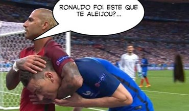 Messi e Éder nos mesmos 'memes'? A final do Euro'2016 deu para tudo!