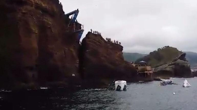 Adrenalina em queda livre nos Açores
