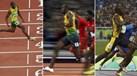 Recorde os três títulos olímpicos de Bolt nos 100 metros
