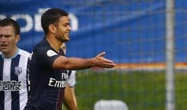 Ben Arfa: «David Luiz é um leão a comer e um gatinho a treinar»