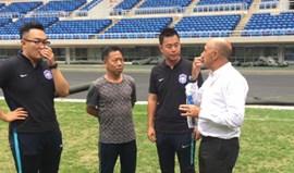 China: Jaime Pacheco apresentado e já a trabalhar