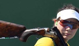 Catherine Skinner conquista ouro no fosso olímpico