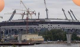 Rússia: Novo estádio do Zenit preocupa FIFA e governo russo