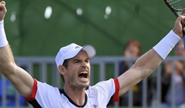 Andy Murray nas meias-finais