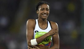 Nafissatou Thiam surpreende no heptatlo