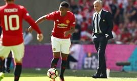Martial: «Van Gaal fez muito por mim mas às vezes era chato»
