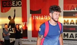 Tobias Figueiredo e Salvador Agra integraram treino
