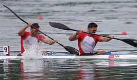 Emanuel Silva e João Ribeiro falham medalha por três décimas