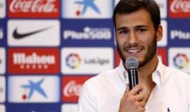André Moreira apresentado no Atlético Madrid