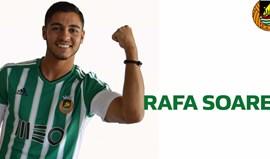 Rafa Soares estreia-se na convocatória