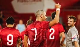 Portugal vence Marrocos no pavilhão da Luz