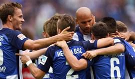 Hertha de Berlim sobe ao quarto lugar na Bundesliga