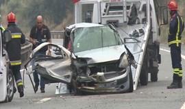Um morto e 11 feridos graves em acidentes de viação entre sexta e domingo
