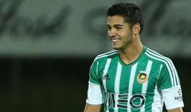 Rafa Soares dedica golo a André Silva