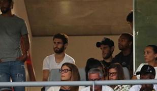 Rafa seguiu jogo do Sp. Braga da bancada