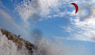 Bulgária é atração para o kitesurf