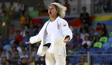 Assim celebrou Telma Monteiro o bronze