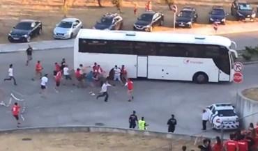 Sp. Braga condena passividade da PSP no jogo com o Benfica