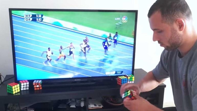Ele é mais rápido do que Bolt...