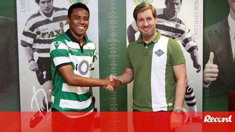 Elias assina por duas temporadas - Sporting - Jornal Record 3ca606c478b4a