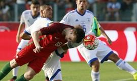Portugal-Israel, 0-0: Quem não mata ainda vai a tempo