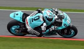 Moto2: Miguel Oliveira abandona GP da Grã-Bretanha