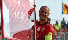 Madjer após marcar o milésimo golo na carreira: «Chegar aos dois mil será difícil...»