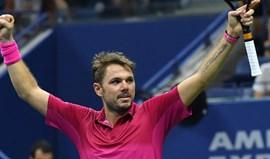 Wawrinka na final com Djokovic